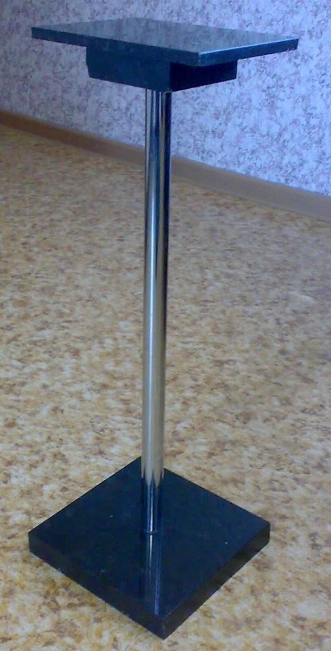 стойка из мрамора для акустики